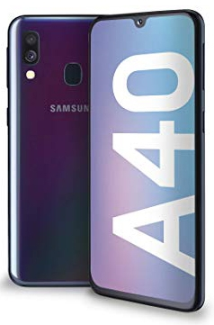 Samsung Galaxy A40 Black WindTre